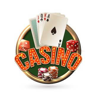 Pocker casino emblem
