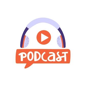 Podcasting, rundfunk, online-radio oder interviewkomposition.