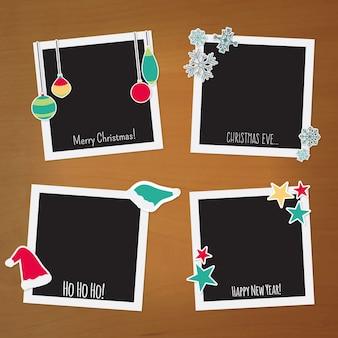 Polaroid weihnachtsfelder