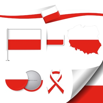 Polen repräsentative elemente sammlung