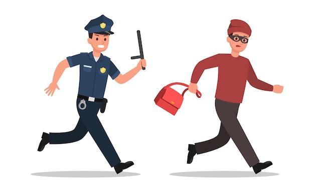 Polizei charakter