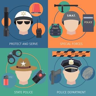 Polizei wohnung eingestellt