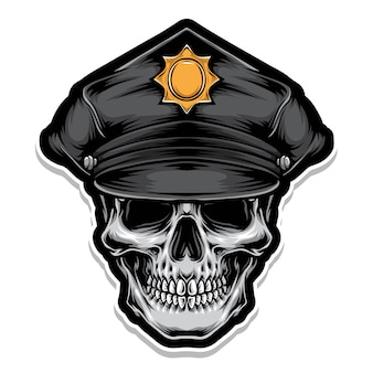 Polizeischädel