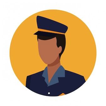 Polizist arbeiter avatar