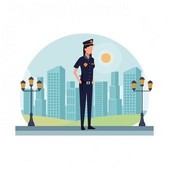 Polizist arbeitnehmerin avatar