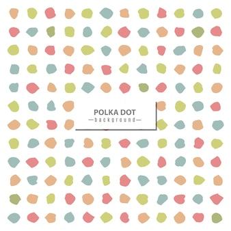 Polka dot farbmuster