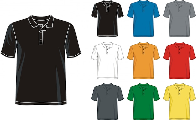 Polo-shirt-vorlage