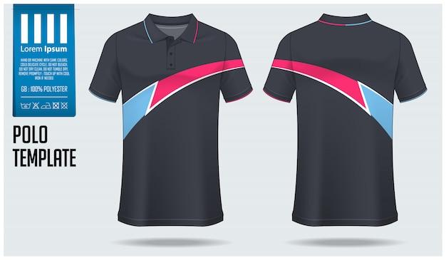 Polo shirt vorlage