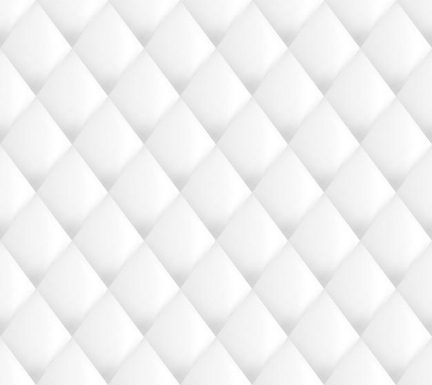 Polsterung muster weiß nahtlos