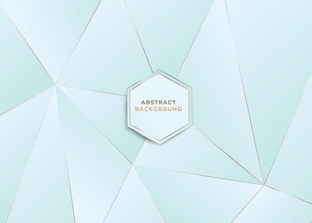 Polygon abstrakter hintergrund