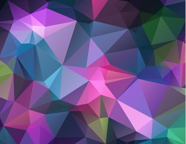 Polygon abstrakter moderner geometrischer hintergrund.