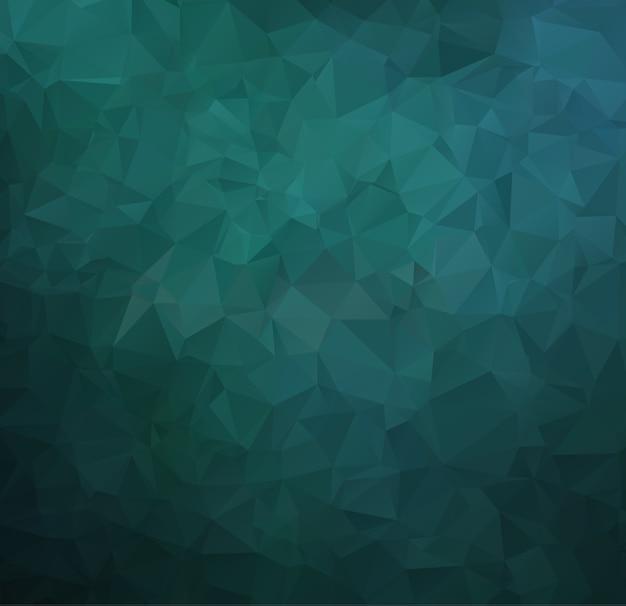 Polygon-abstrakter polygonaler geometrischer dreieck-hintergrund