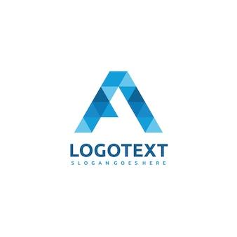 Polygonal ein logo
