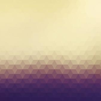Polygonal hintergrund in verschiedenen brauntönen
