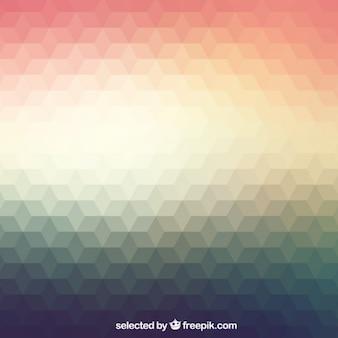 Polygonale hintergrund in gradienten stil