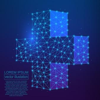Polygonale medizinische querzusammenfassung