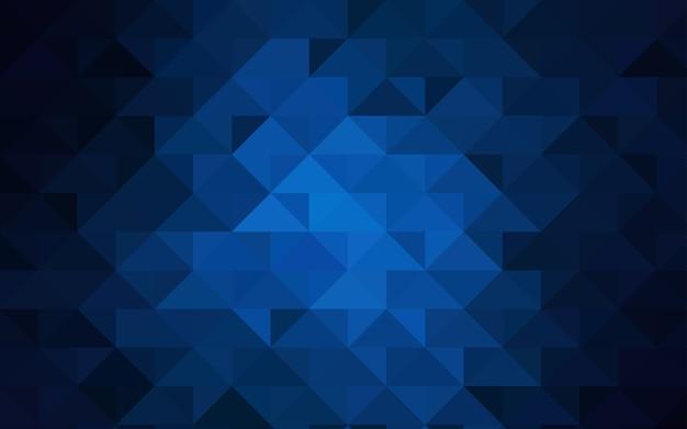 Polygonale schablone des dunklen blauen vektors