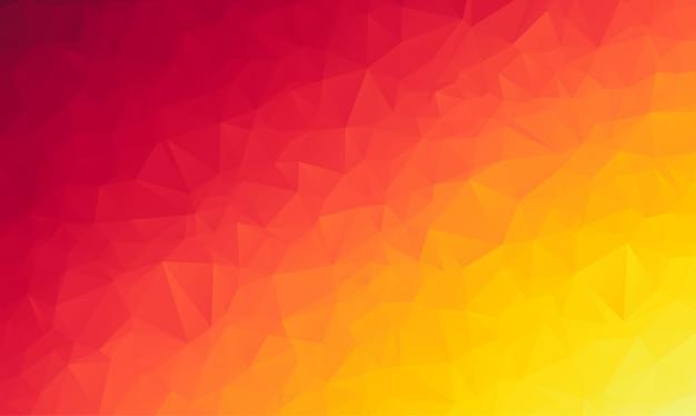 Polygonaler abstrakter hintergrund, bestehend aus dreiecken