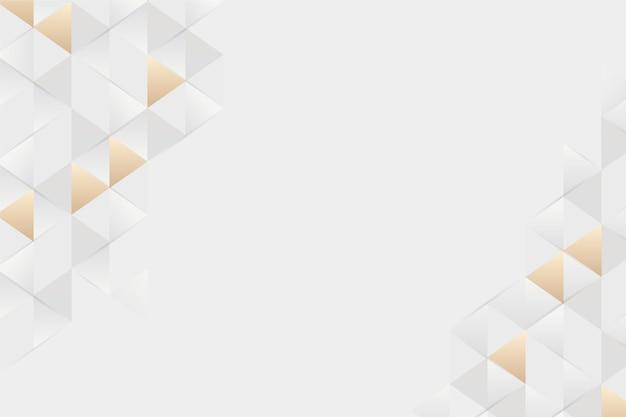 Polygonaler hintergrund der papierart 3d