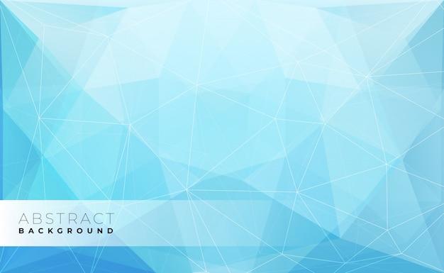 Polygonaler hintergrund des abstrakten modernen dreiecks,