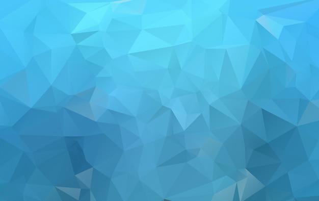 Polygonaler hintergrund des dunklen blauen vektors. nagelneue farbige abbildung in der undeutlichen art mit steigung. brandneuer stil für ihr business-design.