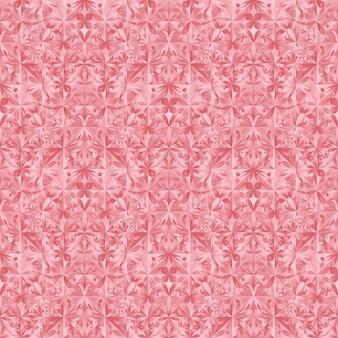 Polygonales abstraktes blumenmuster