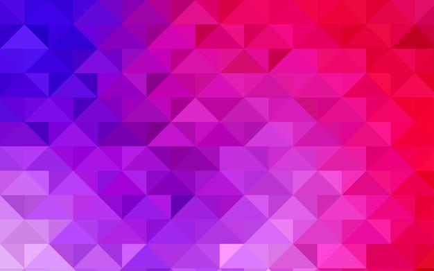 Polygonales muster der blauen vektorzusammenfassung