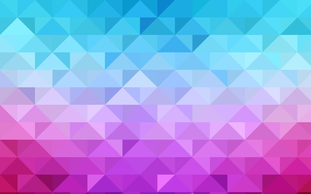 Polygonales muster der roten vektorzusammenfassung