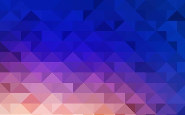 Polygonales muster des gelben vektors