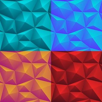 Polygonales nahtloses muster