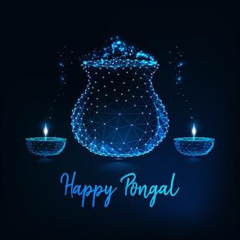 Pongal-grußkarte