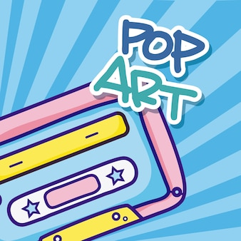 Pop-art cartoons
