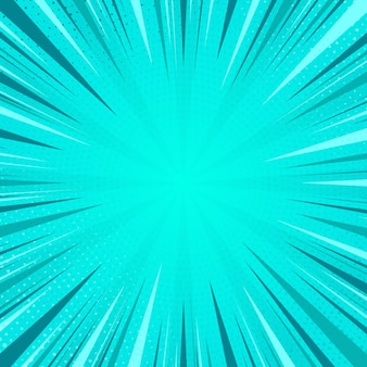 Pop-art-comic-strip-cover-design comic blauer halbtonpunkthintergrund pop-art-retro-stil
