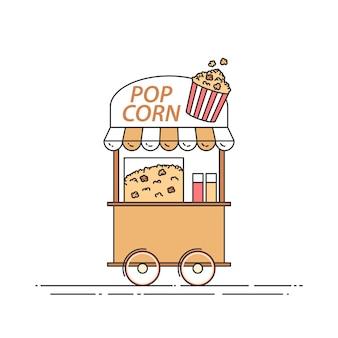 Popcorn-lkw