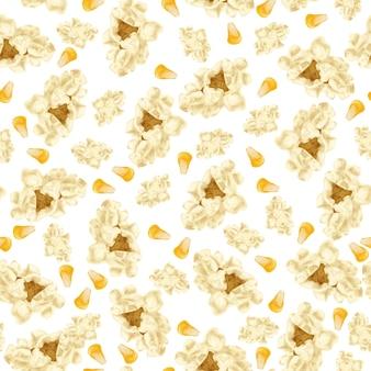 Popcorn nahtlose muster