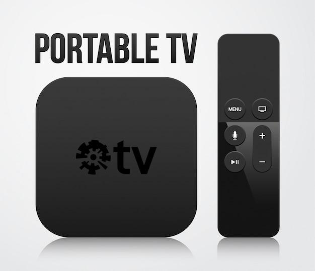 Portable tv-set