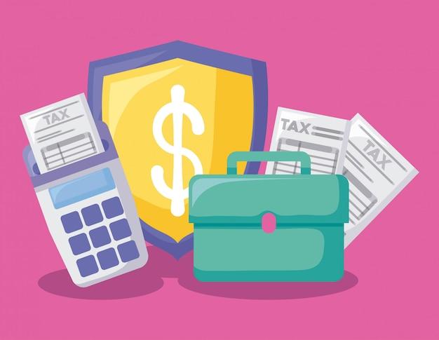 Portfolio mit wirtschaft und finanzen