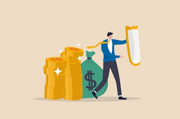 Portfolio zur vermögensallokation von vermögensschutzanlagen im volatilitätsmarkt