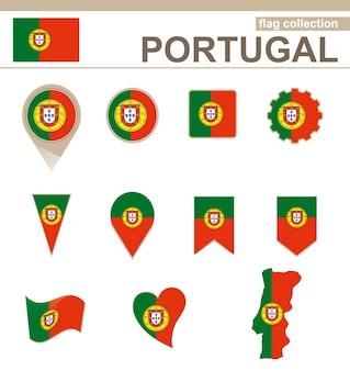 Portugal flag collection, 12 versionen