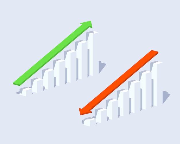 Positive und negative grafiken
