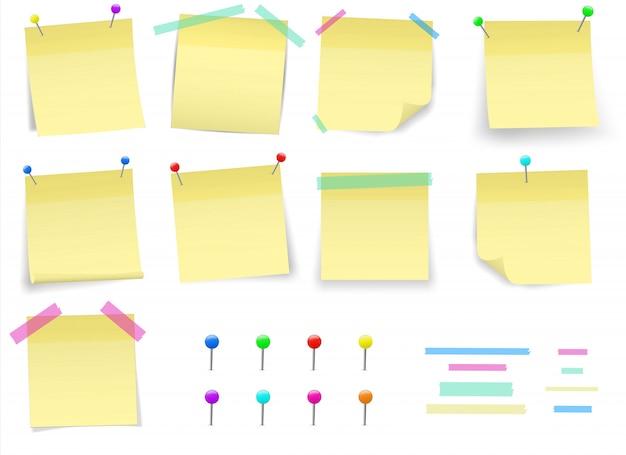 Post briefpapier aufkleber pin. klebeband.
