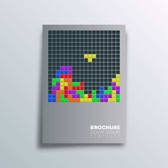 Poster altes videospieldesign