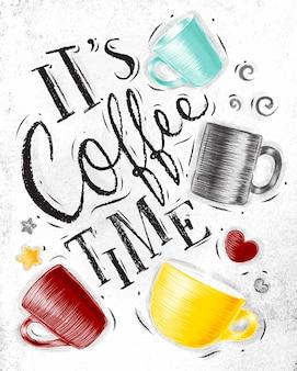 Poster kaffeezeit