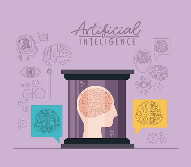 Poster künstlicher intelligenz