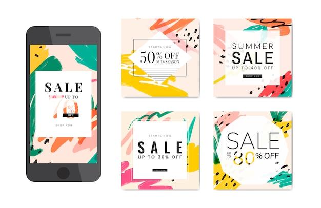 Poster-sommerschlussverkauf