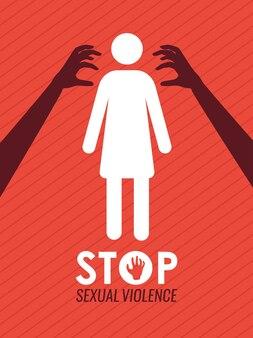 Poster zu sexuellen angriffen