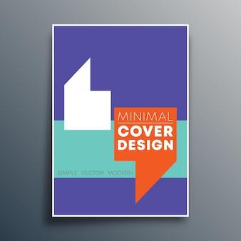 Postervorlage mit zitatkommas design für flyervorlage, poster, broschürencover, typografie oder andere druckprodukte. vektor-illustration.