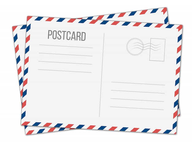 Postkarte, postreisekarte