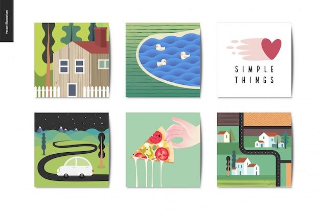 Postkarten-sammlung