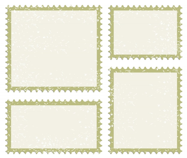 Poststempel-icon-set